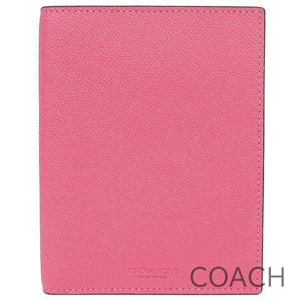 コーチ パスポートケース パスポートカバー レディース COACH レザー