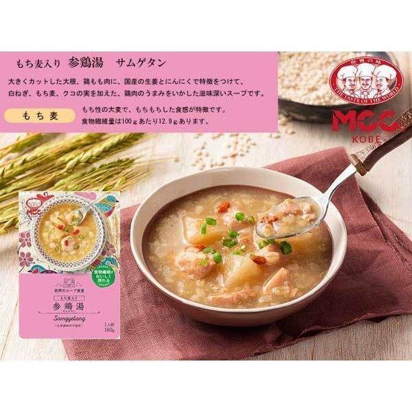 世界のスープ食堂 もち麦入り参鶏湯(サムゲタン)韓国料理