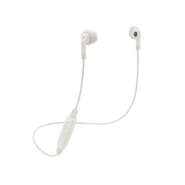 エレコム ELECOM Bluetoothイヤホン セミオープン型 FAST MUSIC 13.6mmドライバ F10I ホワイト LBT-F10IWH