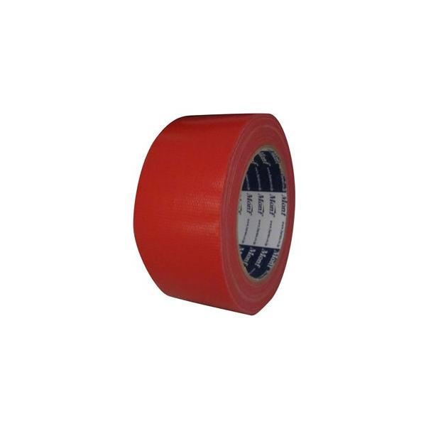 古藤工業 Monf カラー布粘着テープ No.890 赤 50mm×25m