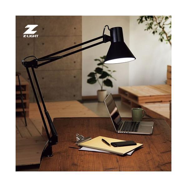 あすつく 山田照明 Zライト LEDデスクライト Z-Light ブラック Z-108NB