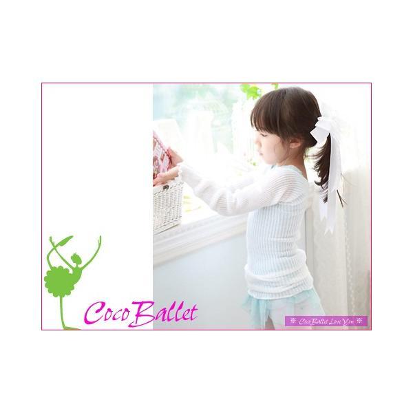 バレエセーター ホワイト|cocoballet|03
