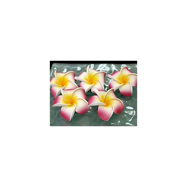 プルメリアの造花S(5個セット)(リアル ピンク)  lxl 南国 トロピカル バリ雑貨 ハワイ バリ雑貨 インテリア ココバリ メール便対応可|cocobari|02