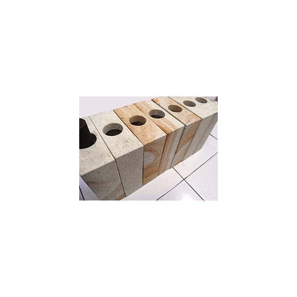 ストーンVASEスクエア(バンブー、ベアグラス3本付き) lxl アジアン バリ フラワーベース 石 おしゃれ リゾート バリ雑貨 インテリア ココバリ|cocobari|09