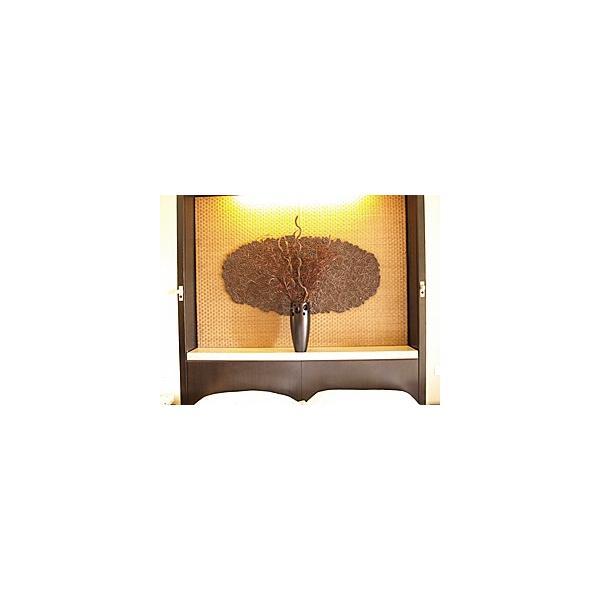 チークのアートオブジェ(セット)(Lサイズ) VASE リーフ5枚 棒5本 枝3束   バリ おしゃれ リゾート バリ雑貨 インテリア ココバリlxl|cocobari|07