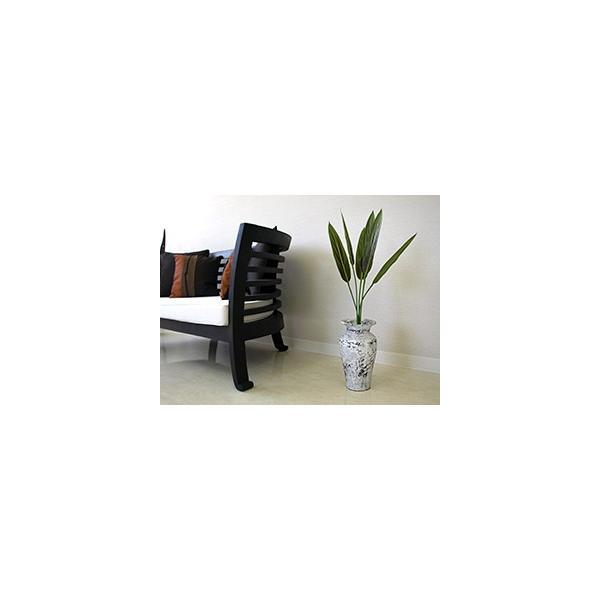 Flower Vase (Terracotta) Antique wash (Small size) シャビーシック アンティーク ビンテージ テラコッタ 植木鉢 白い バリ雑貨 インテリア ココバリ|cocobari|07