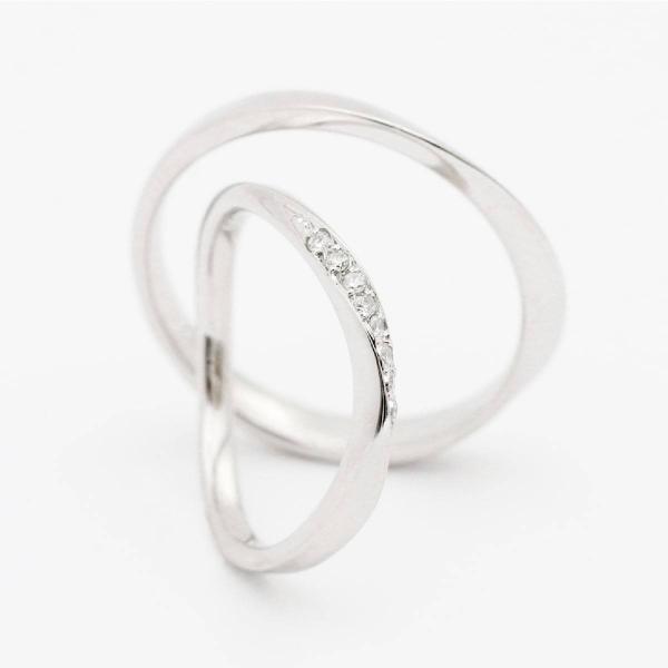 ペアリング 結婚指輪 安い 2本セット K10 ゴールド ダイヤモンド マリッジリング 母の日