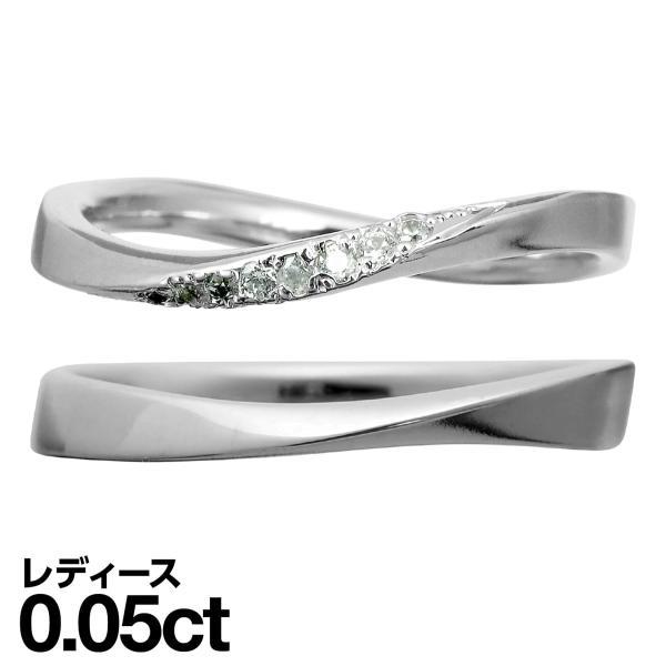結婚指輪 ペアリング 安い 2本セット K18 ゴールド ダイヤモンド マリッジリング 指輪 母の日