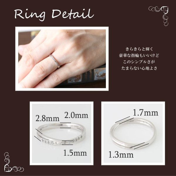 ダイヤモンド 指輪 リング K18 ホワイトゴールド レディース 人気
