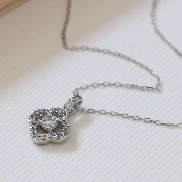 ダイヤモンド ネックレス K18 ピンクゴールド レディース 人気|cococaru|03