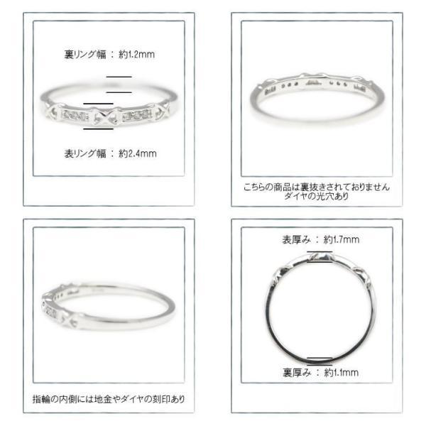 ダイヤモンド 指輪 K18 ホワイトゴールド リング レディース 人気