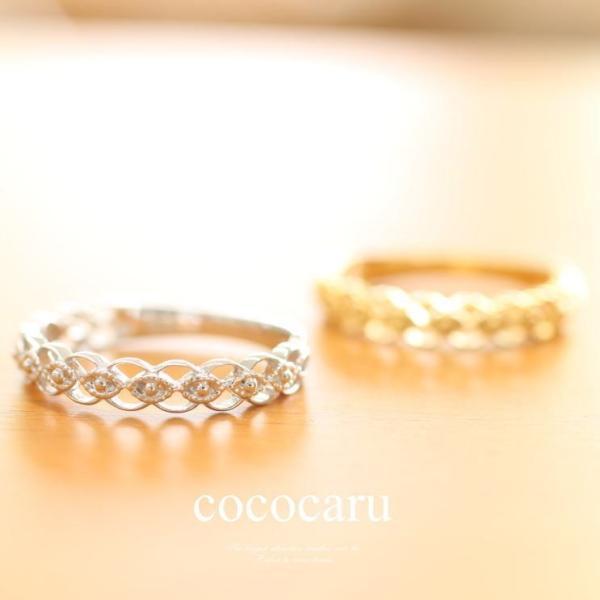 指輪 プラチナリング レディース 人気|cococaru|03