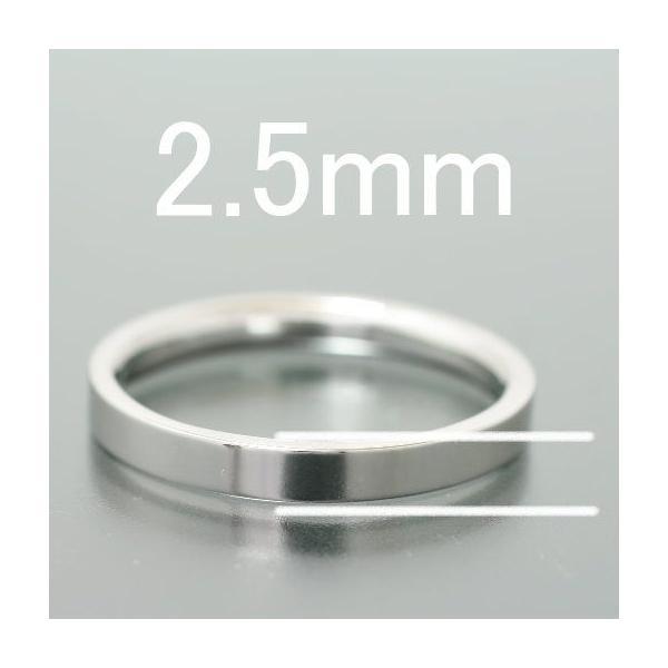 ペアリング マリッジリング 結婚指輪 ゴールド K10 平打ち2.5mm|cococaru|02