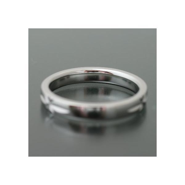 ペアリング マリッジリング 結婚指輪 プラチナ 2本セット|cococaru|03