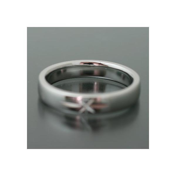 ペアリング マリッジリング 結婚指輪 プラチナ 2本セット|cococaru|05
