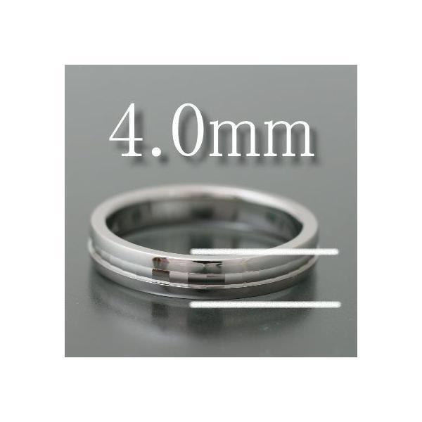 結婚指輪 ペアリング 安い K18 ゴールド マリッジリング 指輪 4mm幅 フルエタニティ カットデザイン 母の日