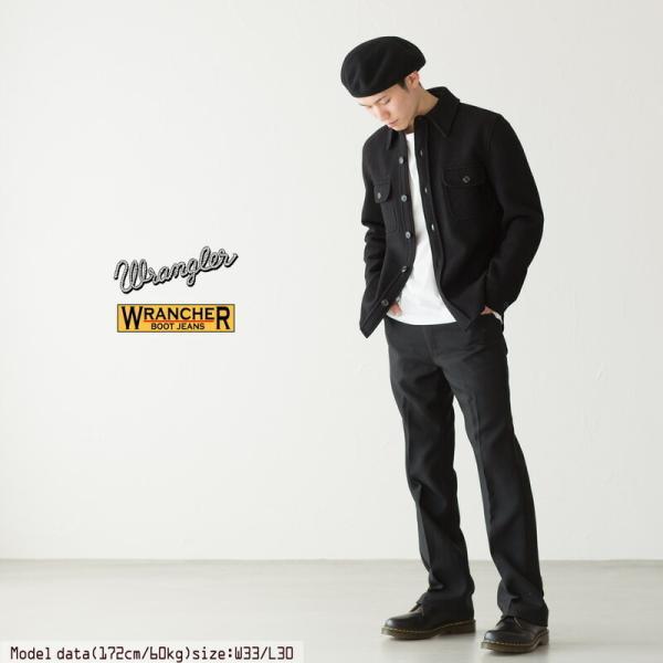 アメリカ直輸入 US ラングラー ランチャー ドレスジーンズ  WRANCHER DRESS JEANS スタプレ ワークパンツ|cocochiya|09