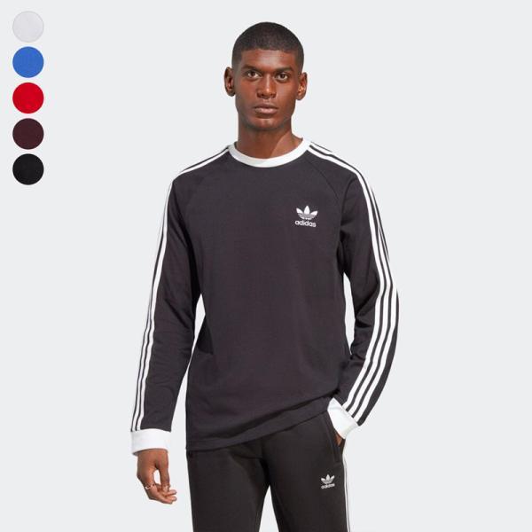 アディダス オリジナルス スリーストライプ 長袖 Tシャツ adidas Originals FKA11|cocochiya