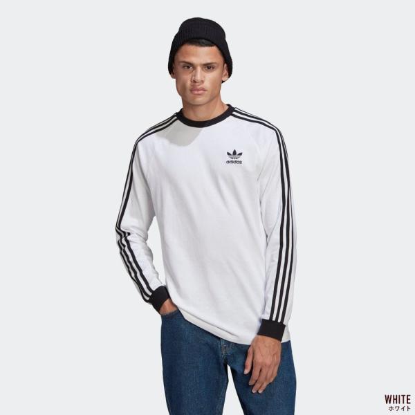 アディダス オリジナルス スリーストライプ 長袖 Tシャツ adidas Originals FKA11|cocochiya|02