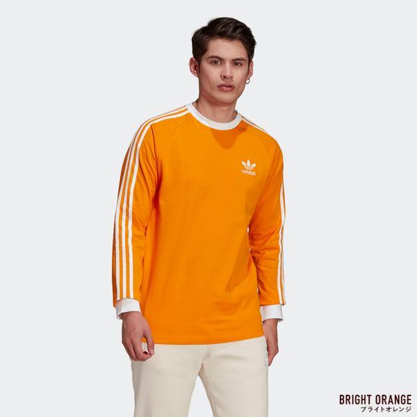 アディダス オリジナルス スリーストライプ 長袖 Tシャツ adidas Originals FKA11|cocochiya|03