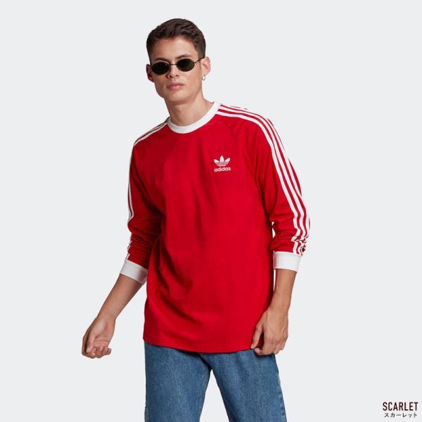 アディダス オリジナルス スリーストライプ 長袖 Tシャツ adidas Originals FKA11|cocochiya|04
