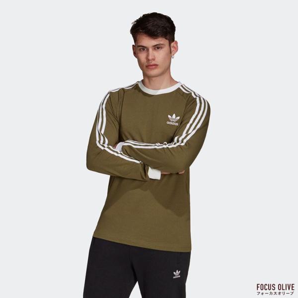 アディダス オリジナルス スリーストライプ 長袖 Tシャツ adidas Originals FKA11|cocochiya|05