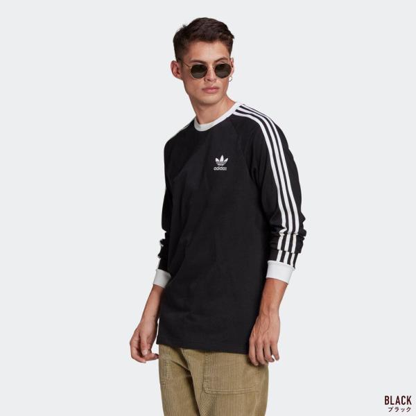 アディダス オリジナルス スリーストライプ 長袖 Tシャツ adidas Originals FKA11|cocochiya|06