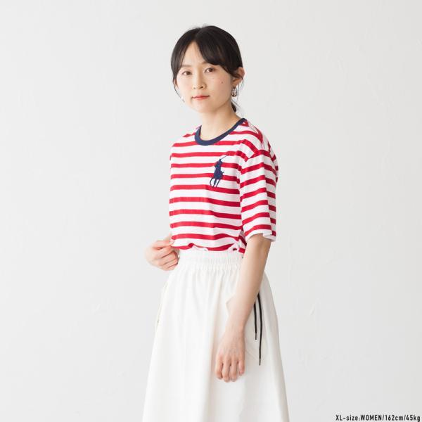 ポロ ラルフローレン ボーイズ ビッグポニー ボーダー Tシャツ レディース メンズ ネコポス可 cocochiya 07