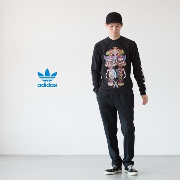 アディダス オリジナルス 長袖 Tシャツ TANAAMI カリフォルニア ロングスリーブ Tシャツ adidas Originals FUF47 DY6690|cocochiya|03
