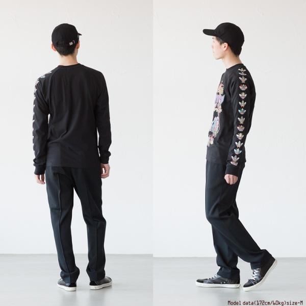 アディダス オリジナルス 長袖 Tシャツ TANAAMI カリフォルニア ロングスリーブ Tシャツ adidas Originals FUF47 DY6690|cocochiya|04