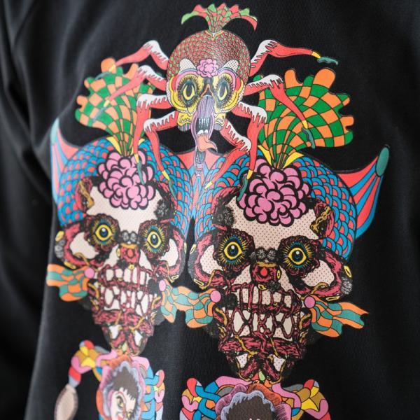 アディダス オリジナルス 長袖 Tシャツ TANAAMI カリフォルニア ロングスリーブ Tシャツ adidas Originals FUF47 DY6690|cocochiya|06