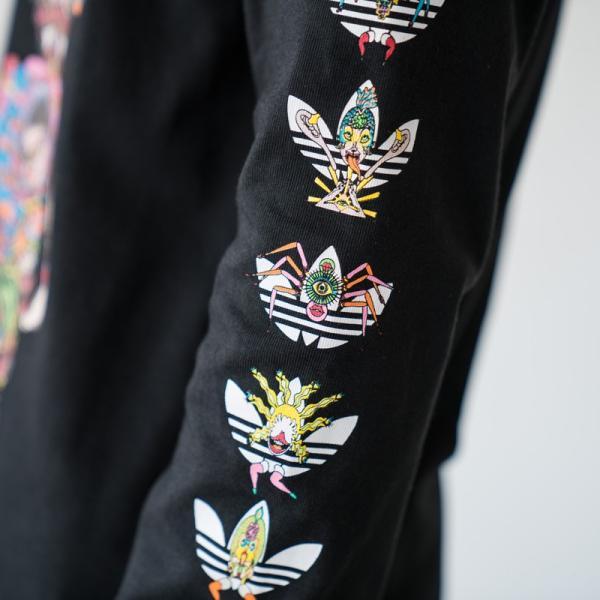 アディダス オリジナルス 長袖 Tシャツ TANAAMI カリフォルニア ロングスリーブ Tシャツ adidas Originals FUF47 DY6690|cocochiya|08