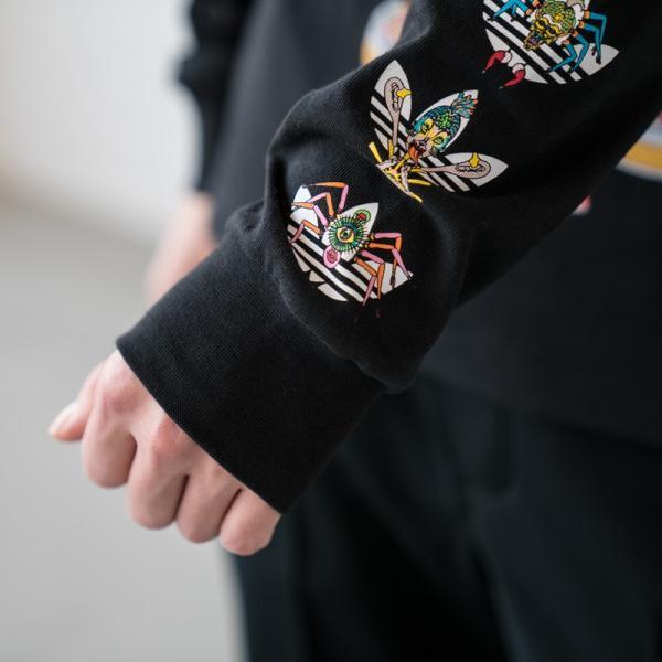 アディダス オリジナルス 長袖 Tシャツ TANAAMI カリフォルニア ロングスリーブ Tシャツ adidas Originals FUF47 DY6690|cocochiya|09