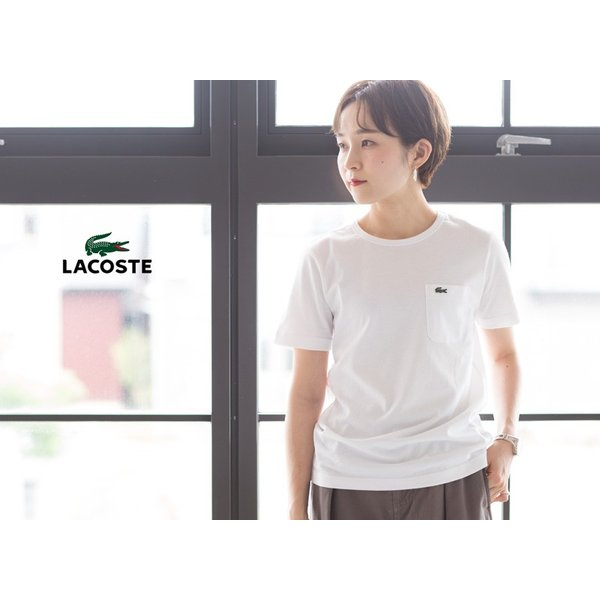 ラコステ 日本製 ポケットTシャツ半袖 クルーネック レギュラーフィット LACOSTE TH633E/TH633EL|cocochiya|04