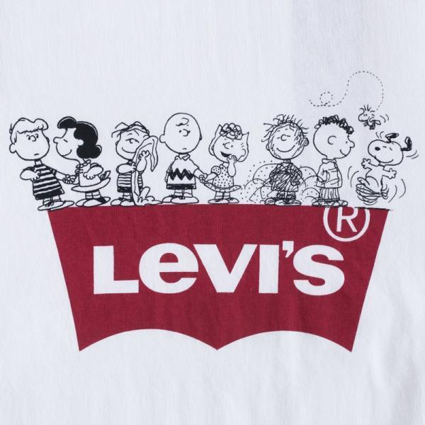 20%OFF リーバイス スヌーピー バット ウィング ロゴ Tシャツ 22491 ピーナッツコレクション ネコポス可|cocochiya|05