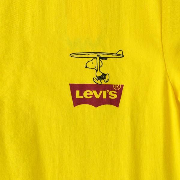 20%OFF リーバイス スヌーピー バット ウィング ロゴ Tシャツ 22491 ピーナッツコレクション ネコポス可|cocochiya|09