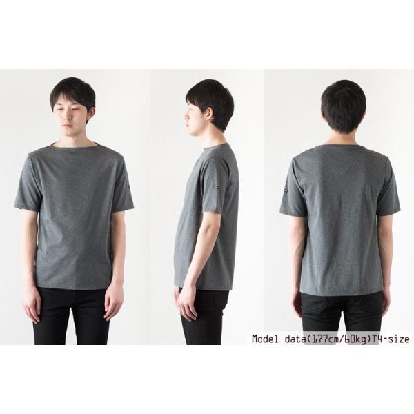 セントジェームス ピリアック 半袖 Tシャツ 無地/ソリッド レディース メンズ|cocochiya|08