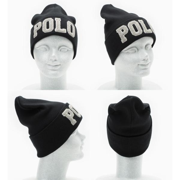 ポロ・ラルフローレン 帽子 ポロ ニットキャップ POLO RALPHLAUREN COTTON HAT メンズ レディース ニット帽/ワッチ cocochiya 06