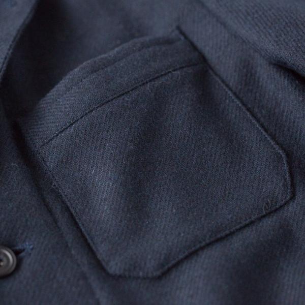 ヴァンソンエミレイユ ウール サーモライト カバーオール ジャケット Vincent et Mireille VM182WT25011 テーラードジャケット|cocochiya|08