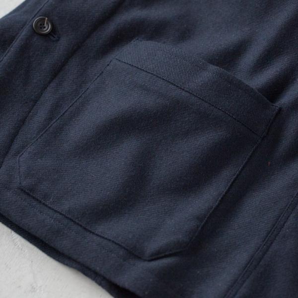 ヴァンソンエミレイユ ウール サーモライト カバーオール ジャケット Vincent et Mireille VM182WT25011 テーラードジャケット|cocochiya|10