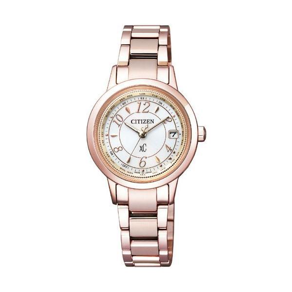 シチズン 腕時計 クロスシー EC1144-51C Citizen レディース xC エコ・ドライブ電波 多局受信型 針表示式 TITANIAライン サクラピンク 新品 国内正規品