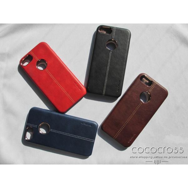 3d2ed35705 iPhone ケース iPhone7 iPhone6 iPhone6s シンプル 高級感 大人 おしゃれ レザーケース 革 VORSON