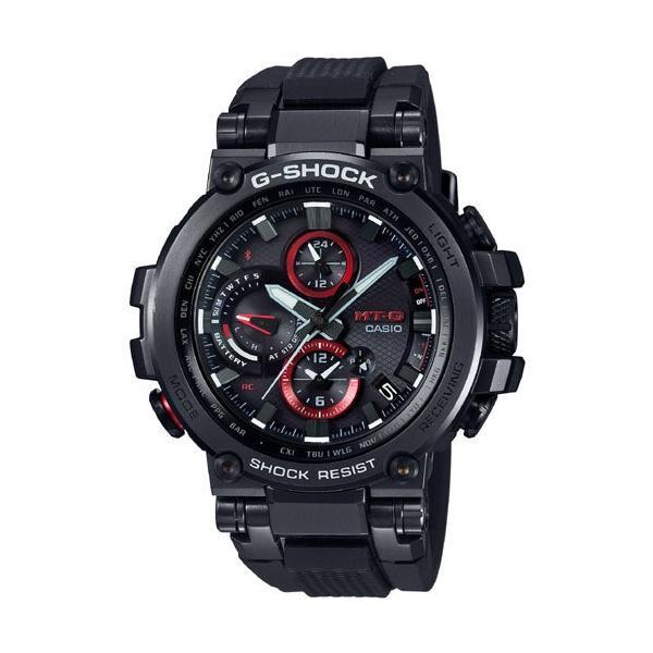 カシオメンズ腕時計ジーショックMTG-B1000B-1AJFCASIOG-SHOCKMT-G電波ソーラーBluetooth新品国
