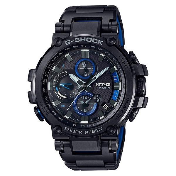 カシオメンズ腕時計ジーショックMTG-B1000BD-1AJFCASIOG-SHOCKMT-G電波ソーラーBluetooth新品
