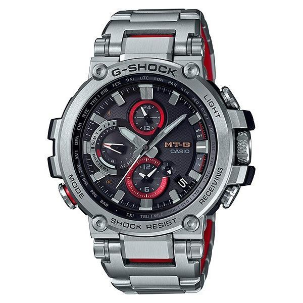 カシオメンズ腕時計ジーショックMTG-B1000D-1AJFCASIOG-SHOCKMT-G電波ソーラーBluetooth新品国