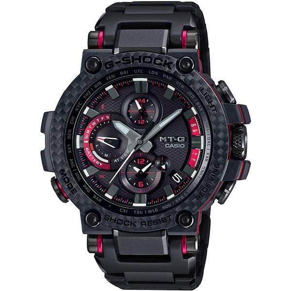 カシオメンズ腕時計ジーショックMTG-B1000XBD-1AJFCASIOG-SHOCKMT-GBluetooth搭載電波ソーラ