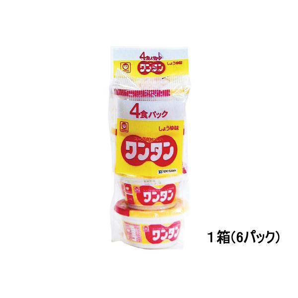 東洋水産/カップワンタンしょうゆ味 4食×6パック