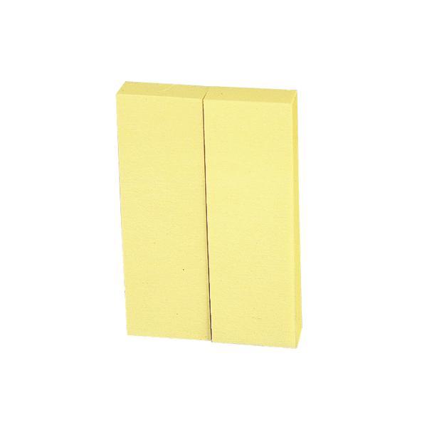 ビュートン/貼ってはがせるノリ付きメモ黄2冊×10/MR-200Y