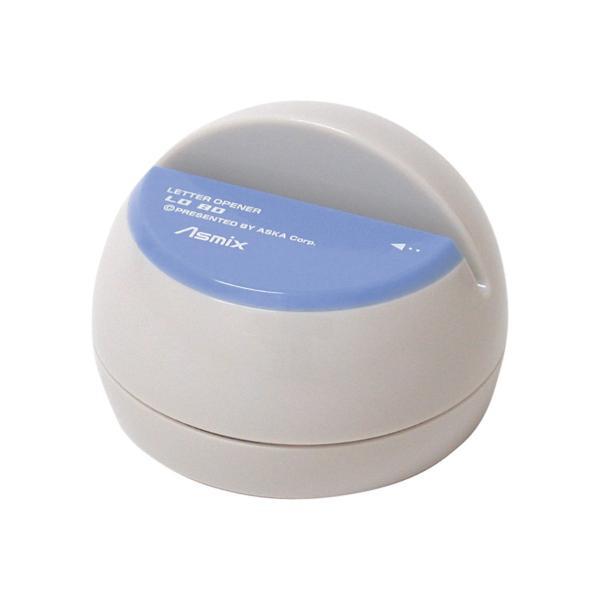アスカ/電動レターオープナー ブルー/LO80B