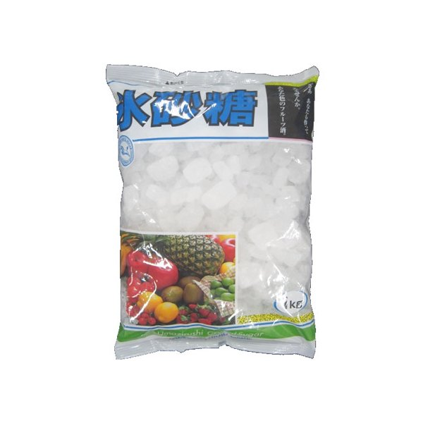 中日本氷糖/氷砂糖 青マーククリスタル 1kg